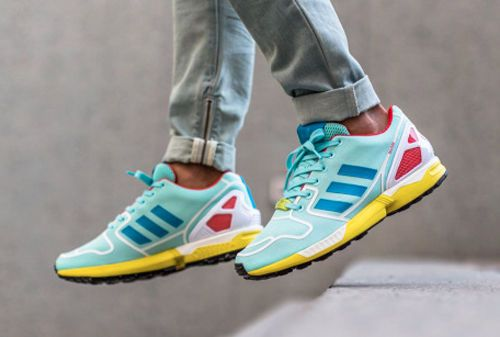 Greatful Style Adidas Zx 700 Running Breathe Freely Shoes Mens Yellow Comfortable
