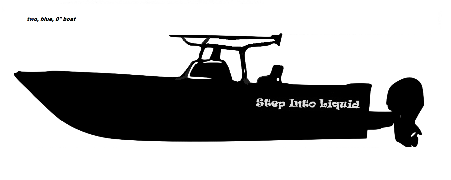 Truck Sticker Proline Center Console Boat Pinterest Center - Blue fin boat decalsblue fin sportsman need some advice pageiboats