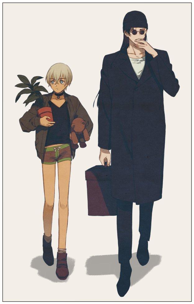原稿中 on Fictional characters, Anime, Detective