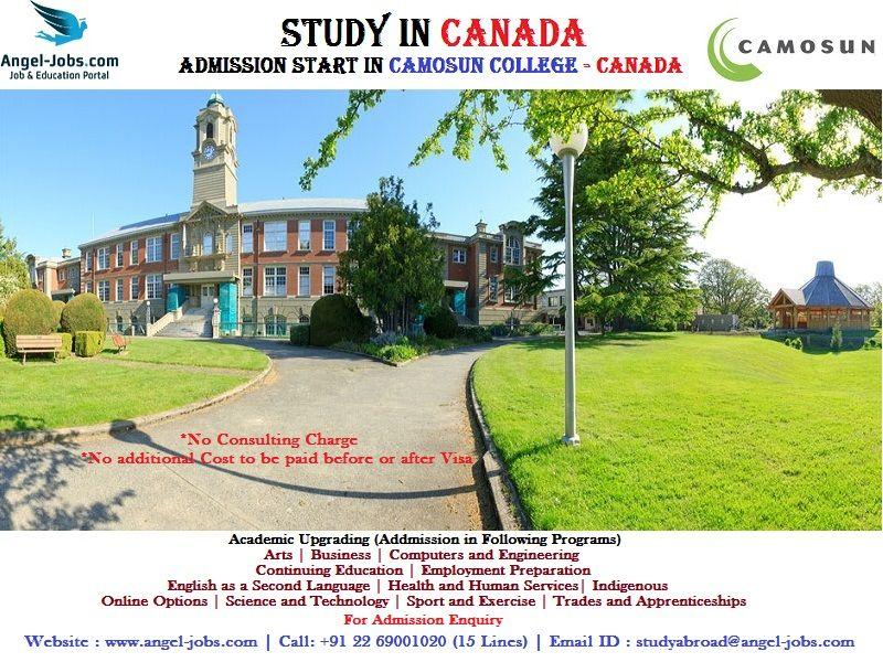 StudyAbroad StudyinCanada AngelOversasEducation AngelJobs