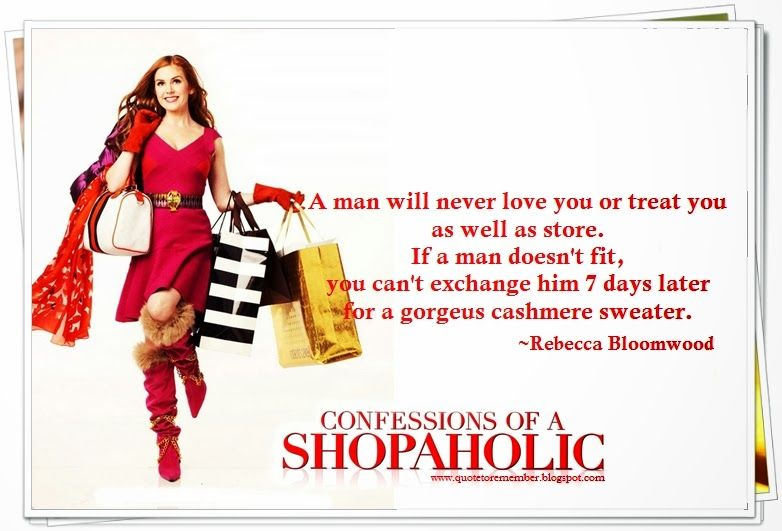 When A Man Loves A Woman Movie Quotes: Confessions Of A Shopaholic