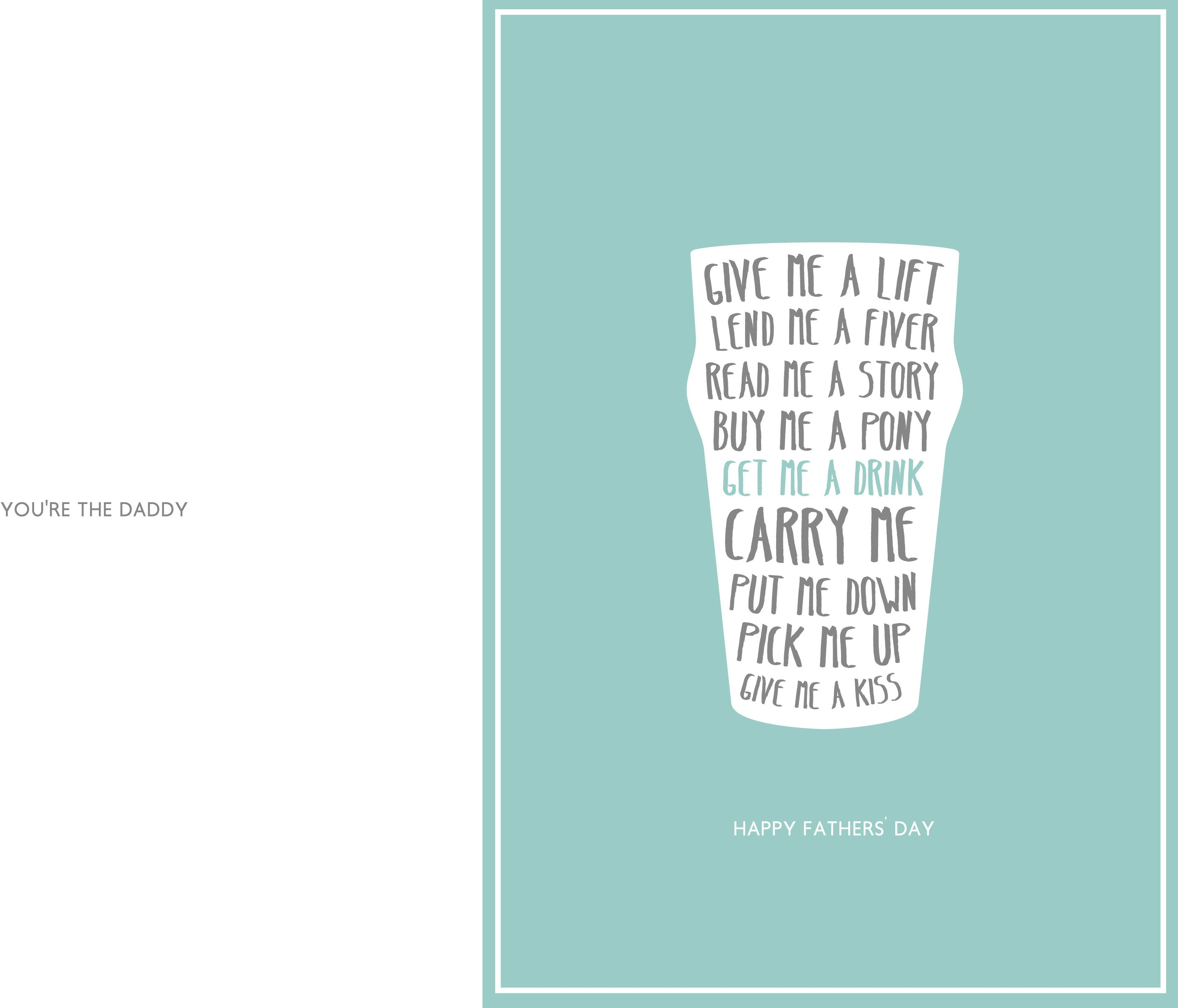 Free Printable Fathers Day Cards for Husband 2800—2396