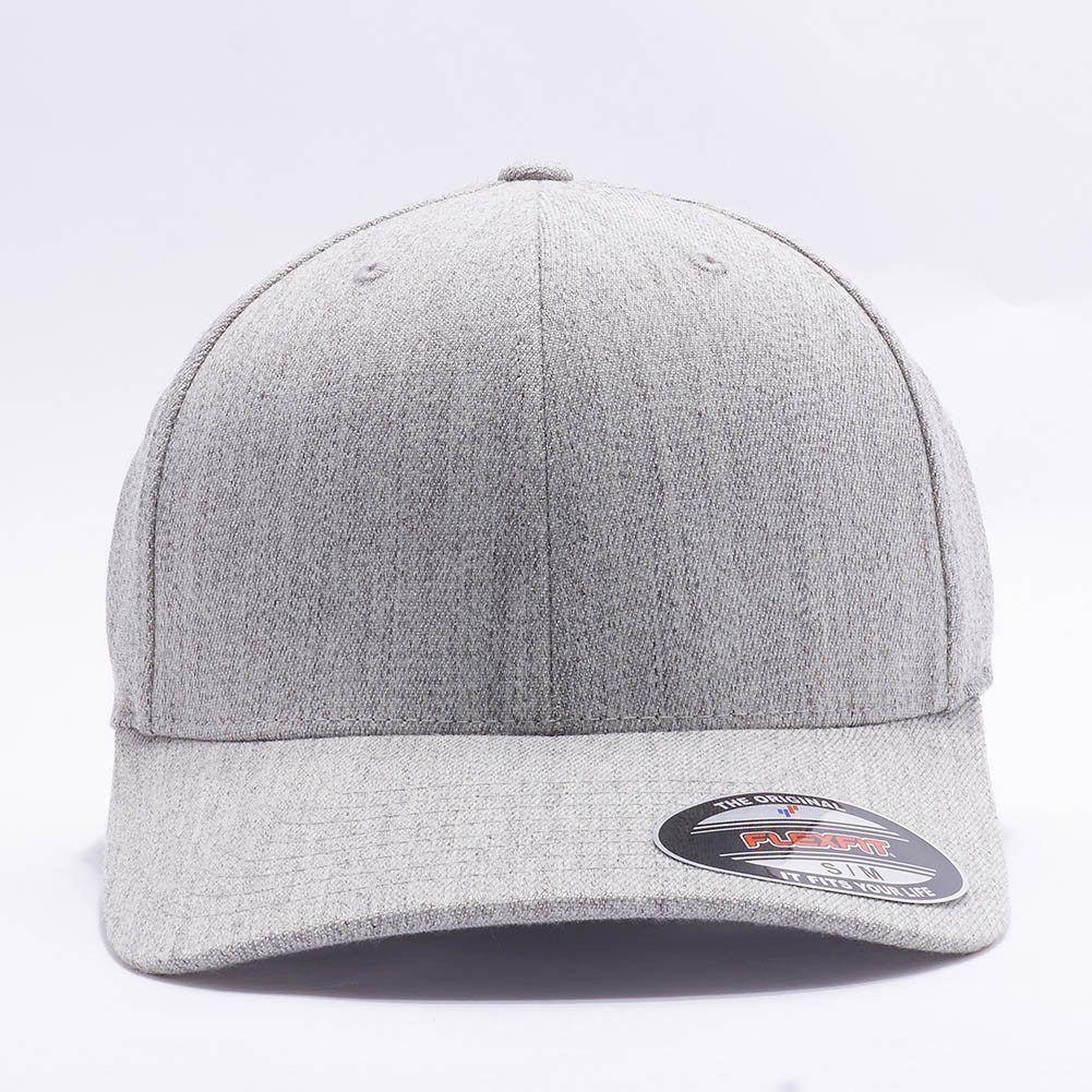 Wholesale Flexfit Yupoong 6477 Flexfit Wool Blend Hat  Heather Grey  e2b1386a979f