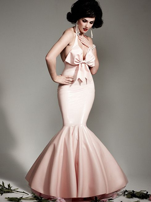 Latex Showtime Ball Gown | Wardrobe To Die For | Pinterest | Latex ...