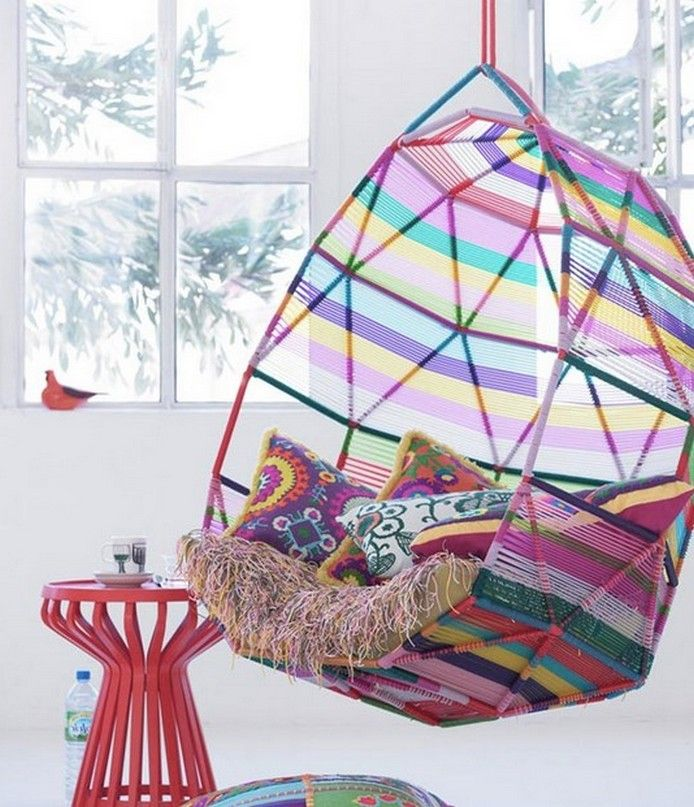Patricia Urquiola_Moroso Tropicalia Cocoon Hanging Chair