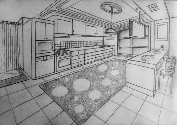 50 Interior Drawing Ideas Esbocos De Design De Interiores