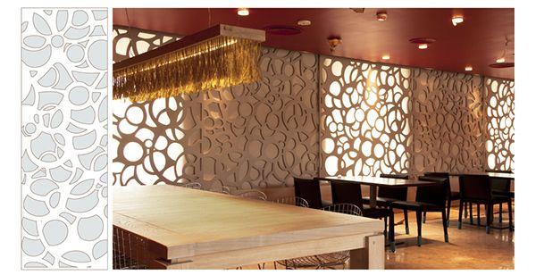celosía - interiorismo - restaurante