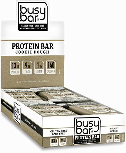 Cheap Busy Bar, Grass Fed Whey Protein Bar, Cookie Dough, Only 1g of Sugar, 13g of Protein, Only 140 Calories, Gluten Free, Low Carb Bar, Soy Free, Non-GMO, Perfect Snack On-the-Go (12 bars) -  Cheap Busy Bar Grass Fed Whey Protein Bar Cookie Dough Only 1g of Sugar 13g of Protein Only 140 Cal - #13g #bar #bars #busy #calories #carb #Cheap #Cookie #Dough #Fed #foodprotein #Free #Gluten #Grass #healthyproteinrecipes #healthyrecipesprotein #NonGMO #onthego #Perfect #protein #proteinonly #snack #so