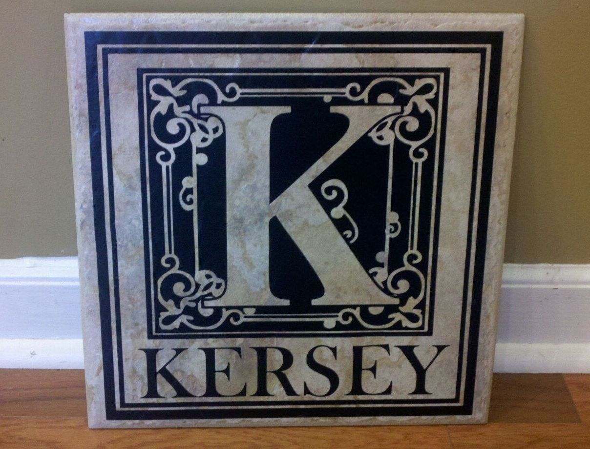 12x12 personalized ceramic tile 2500 via etsy products i 12x12 personalized ceramic tile 2500 via etsy dailygadgetfo Choice Image