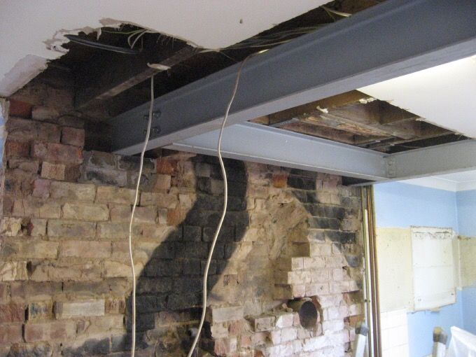 Load Bearing Chimney : Removal of the chimney breast was executed without fault