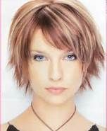 Short Choppy Layers With Side Swept Bangs Bing Images Short Hair Styles Hair Styles Choppy Hair