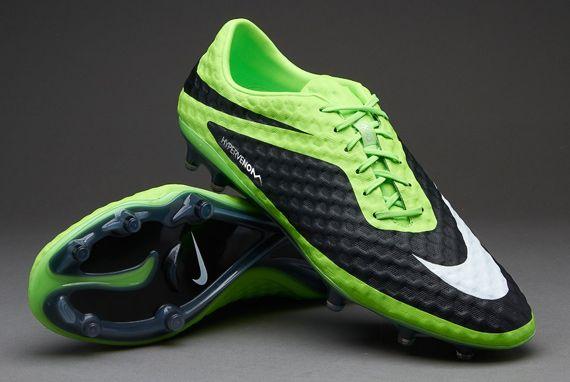 designer fashion e879f d1d22 Nike Hypervenom Phantom FG Boots - Lime/White/Black (size ...