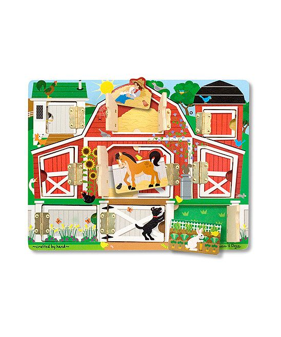 Magnetic Farm Hide & Seek Board by Melissa and Doug ...