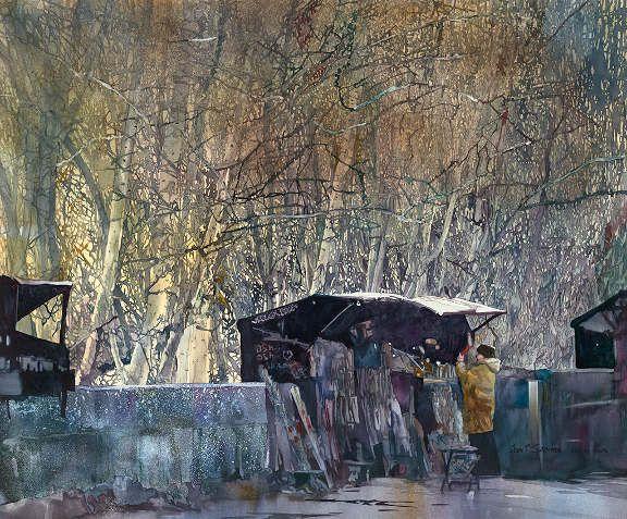 John Salminen. watercolour