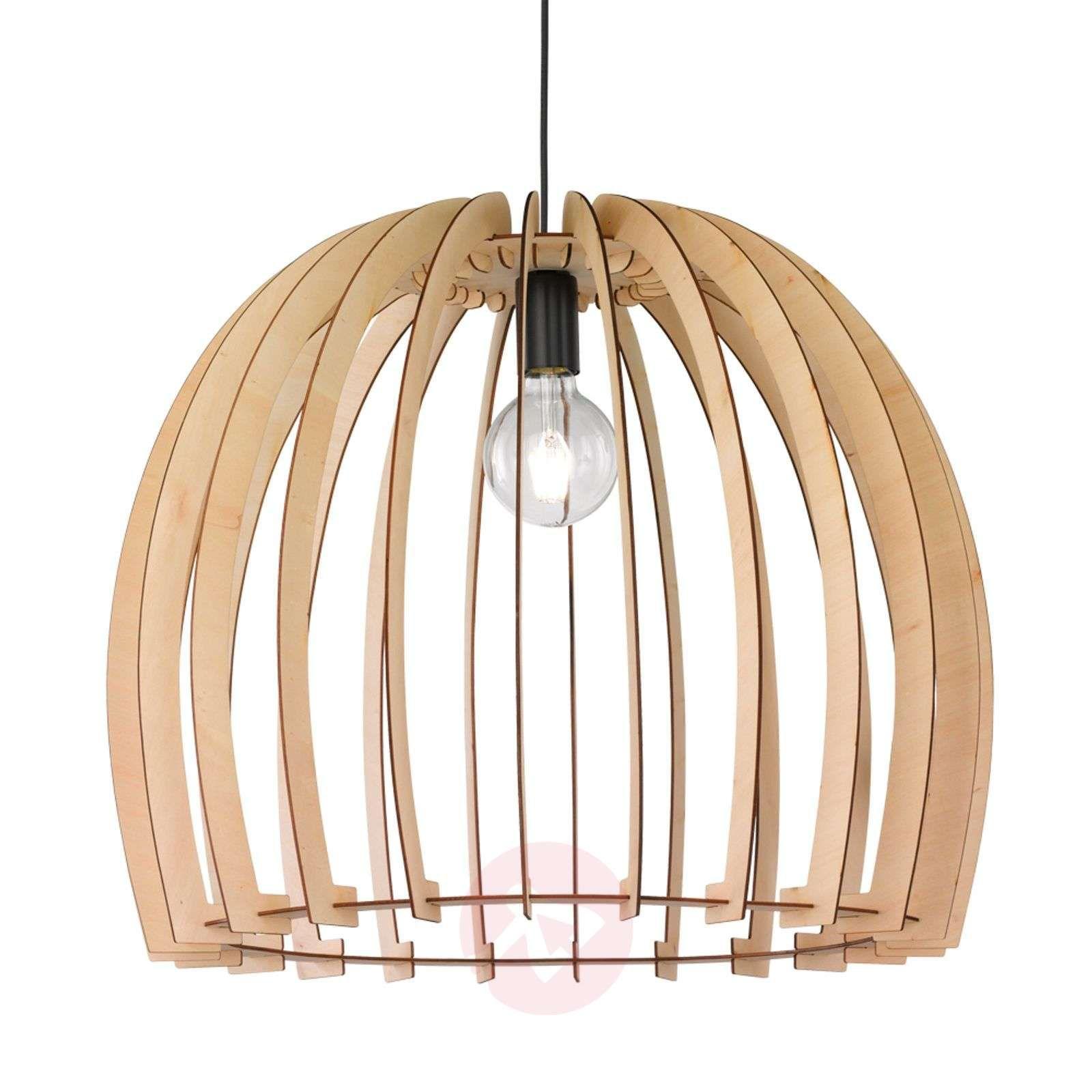 Modna Drewniana Lampa Wisząca Wood Lampy Wiszące W 2019