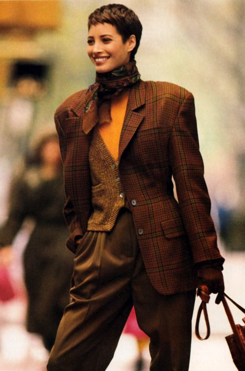 Christy Turlington  Mademoiselle September 1990.