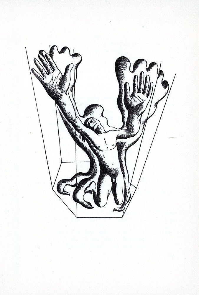 F. Roberts Johnson. Illustration to: Hamlet, by William