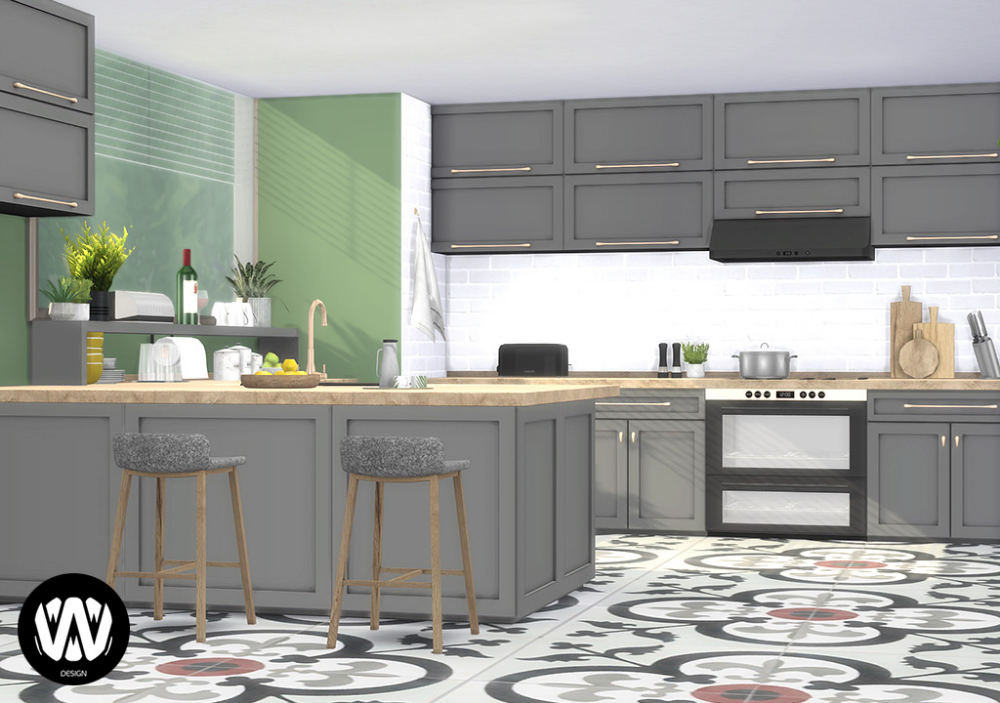 Opuntia Kitchen Sims 4 Download Free And Quality Custom Content For The Sims 4 And The Sims 3 Fu Sims 4 Kitchen Cabinets Sims 4 Kitchen Kitchen Furniture