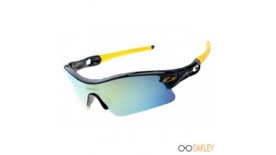 36bcc7acde Buy your favorite fake Oakley Radar pitch sunglasses polished black frame    ice iridium lens at our website high quality and cheap price.