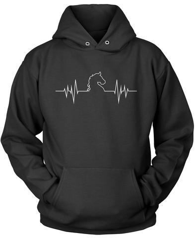 Horse Heartbeat T-Shirt #geekculture