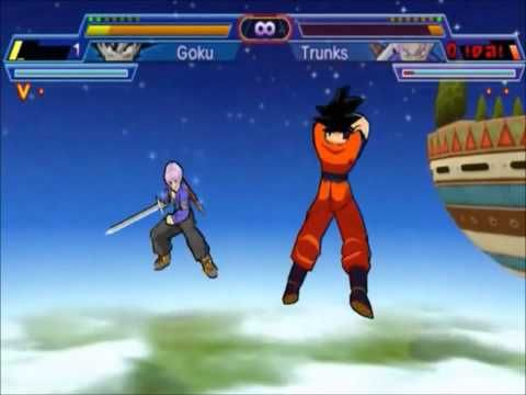 Gameplay & Download Dragon Ball Z Shin Budokai 2 PSP