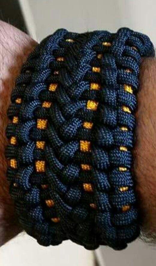 Modified Sanctified Paracord Bracelet 550 Paracord Bracelet