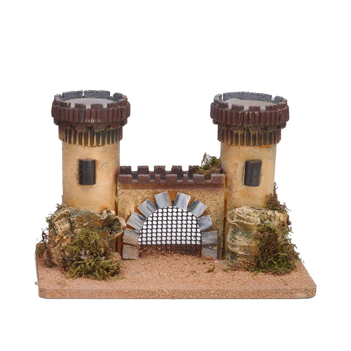 Castillo De Corcho Para Belen Navidad Belenes De Navidad