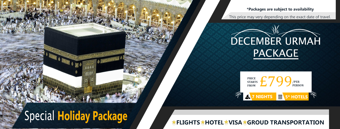 All Inclusive December Umrah Packages 2020   Holiday ...