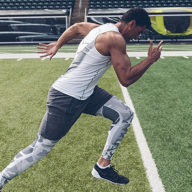 Head down, speed up. Marcus Mariota focuses on perfecting his first step for maximum acceleration and power out of the pocket. #nikefree