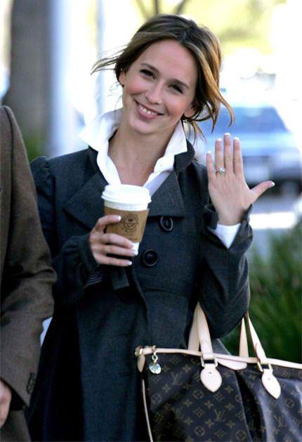 Jennifer Love Hewitt Engagement Ring Diamond Bling