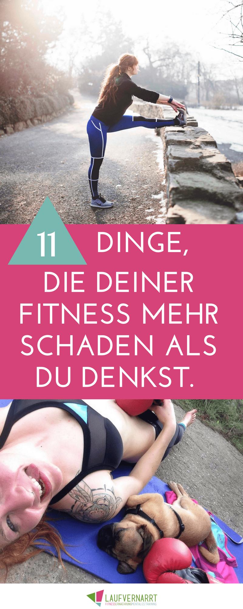 Photo of 11 Dinge, die Ihrer Fitness mehr schaden als Sie denken – verrückt nach Laufen
