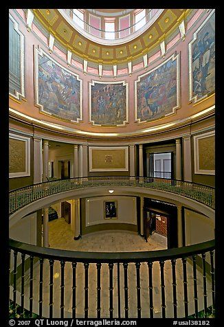Paintings Il Rating The State History Below The Dome Of The Capitol Montgomery Alabama Usa Color