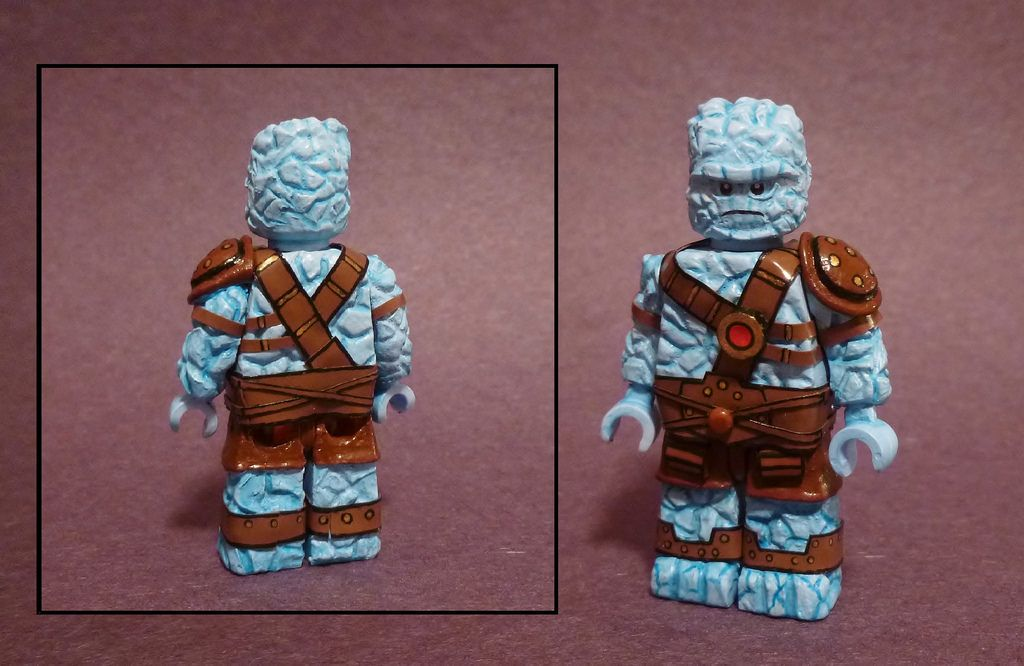 LEGO Marvel Torso Minifig C1