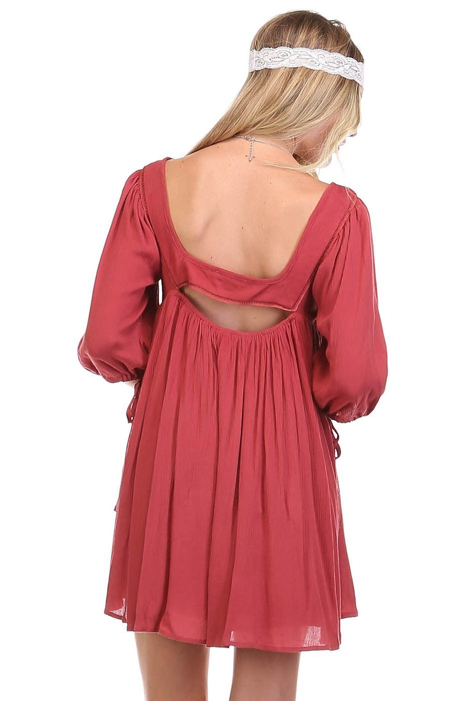 Bohemian Flyaway Dress
