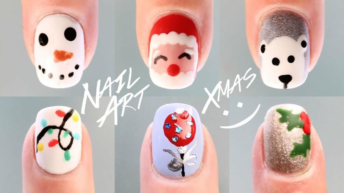 12 diseños de uñas para Navidad, ¡paso a paso! | Belleza | RED ...
