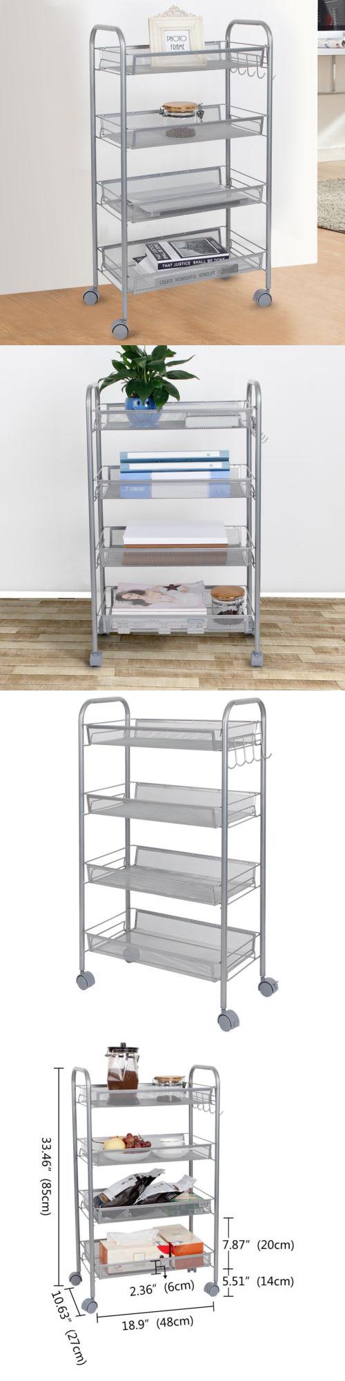 kitchen islands kitchen carts 115753 lifewit 4 tier kitchen
