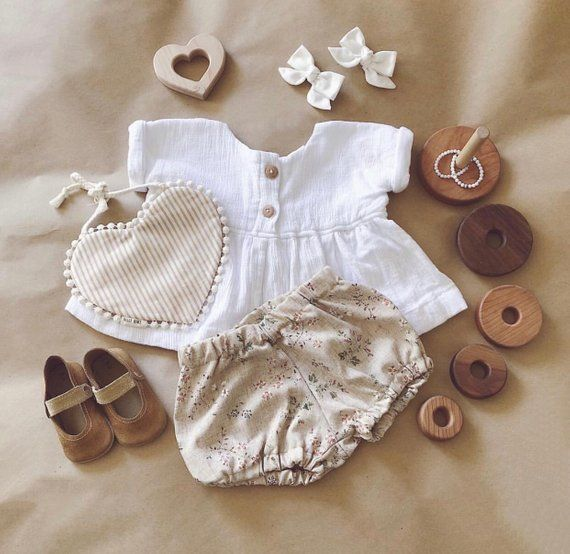 Fleur linen bloomers / nappy cover / diaper cover | Pinterest ...