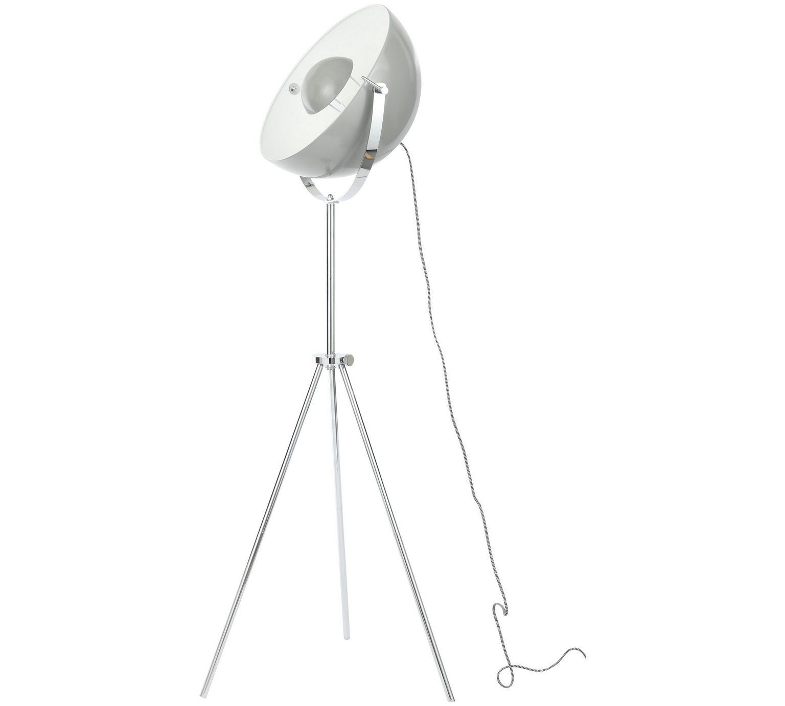 Buy Hygena LED Satellite Dish Floor Lamp - Chrome at Argos.co.uk ...