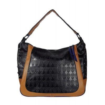 a7dc83a76 Bolsa Caveiras Preta, Caramelo e Azul compre agora! Conheça + Bolsa Caveiras
