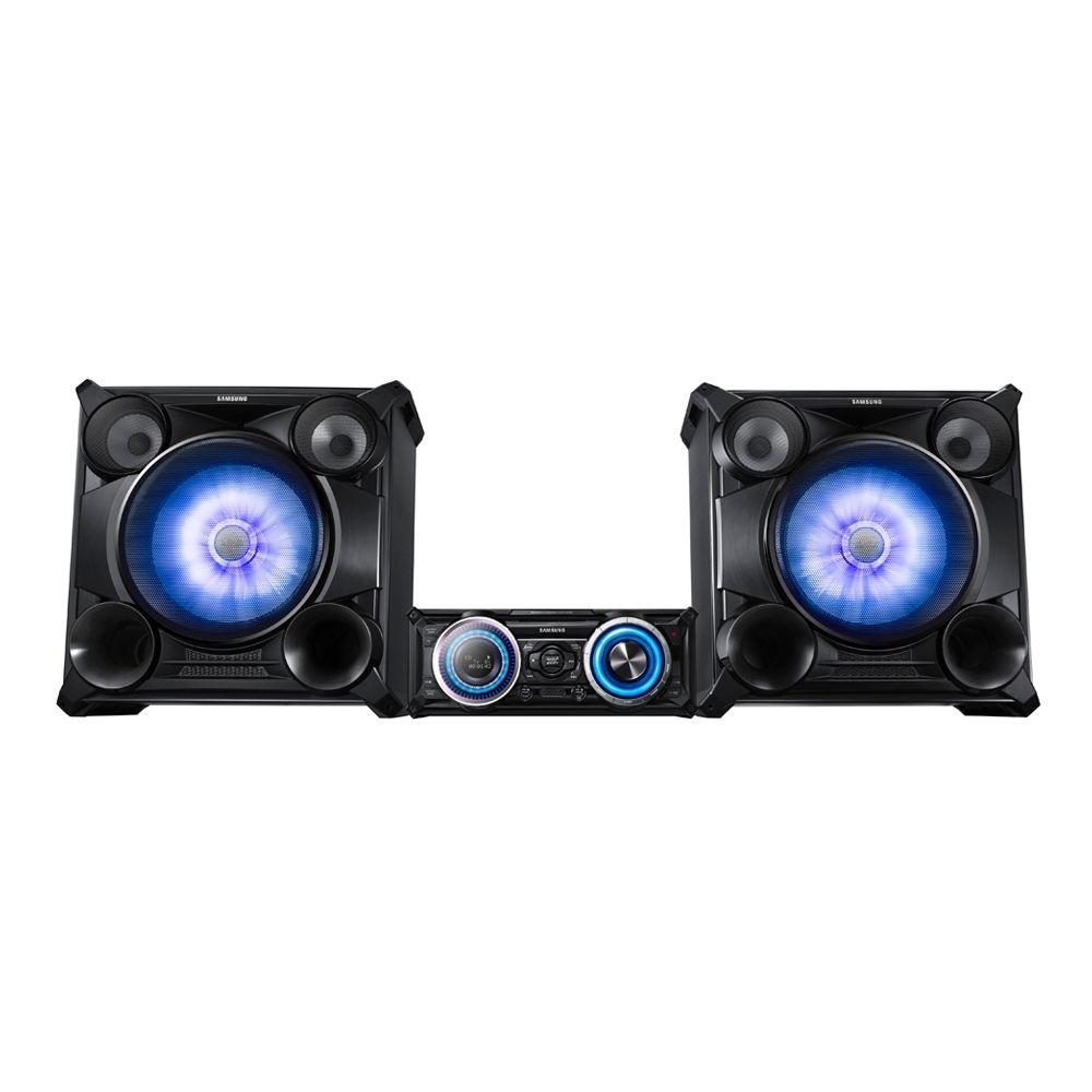 Minicomponente con DJ Effect Samsung 5102 27600 Watts  Dale vida a la fiesta con las funciones Beat Waving y 3D Beat Lighting del Sistema de audio componente Hi-fi Premium. Visualiza el potente sonido y disfruta de una calidad superior. Ve y siente el ritmo con Beat Waving, que ilumina el altavoz en forma sincronizada con la música.   *Hasta agotar existencias  Walmart.com.mx, Hacemos Clic!
