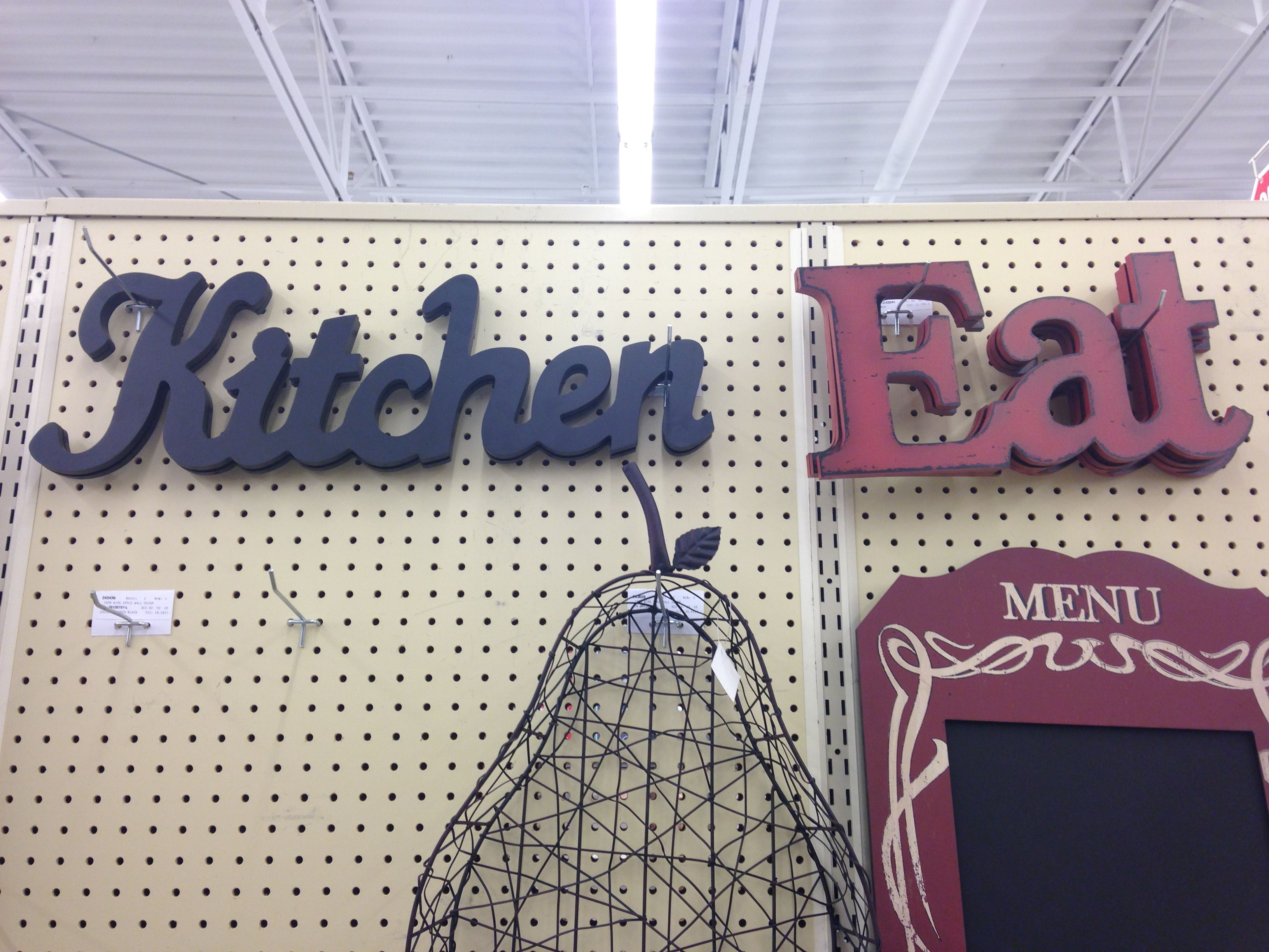 Hobby lobby kitchen signs | Kitchen signs, Home ...