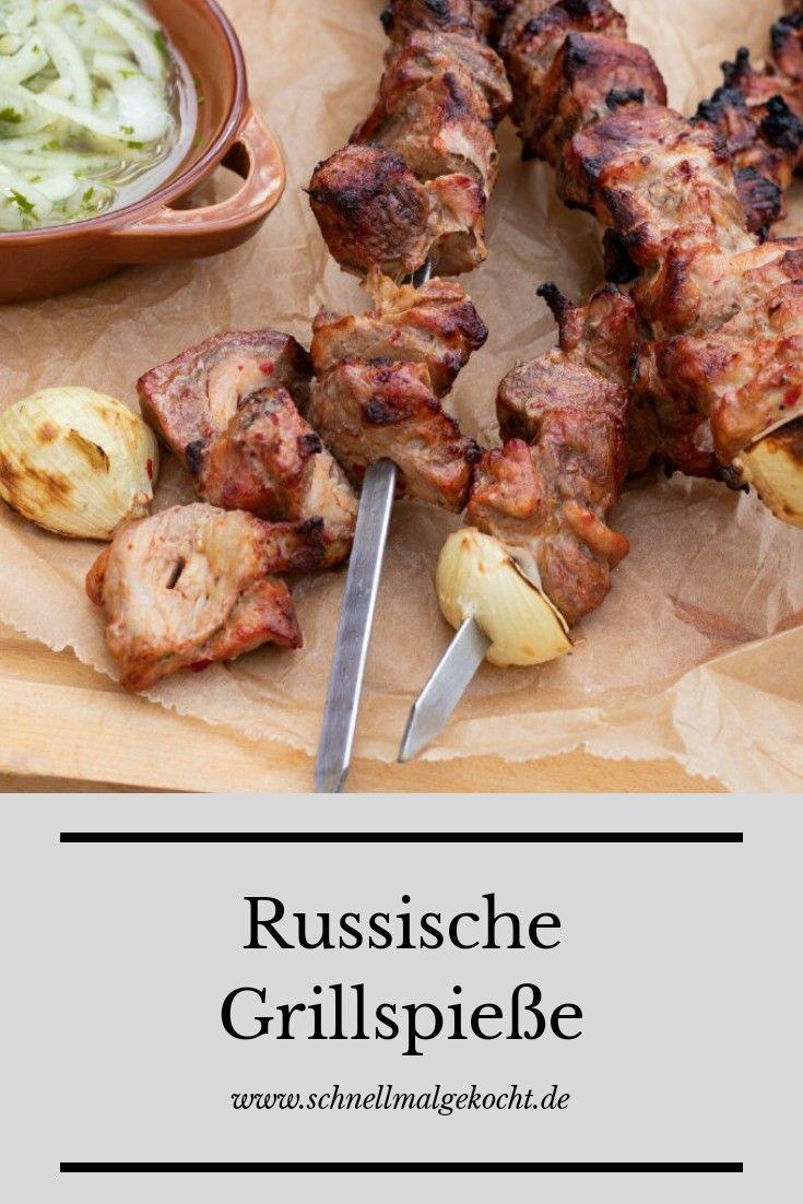 Russische Grillspieße
