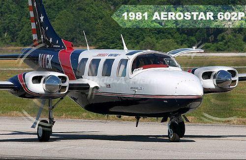 #FeaturedListing 1981 AEROSTAR 602P available at Trade-A-Plane.com.