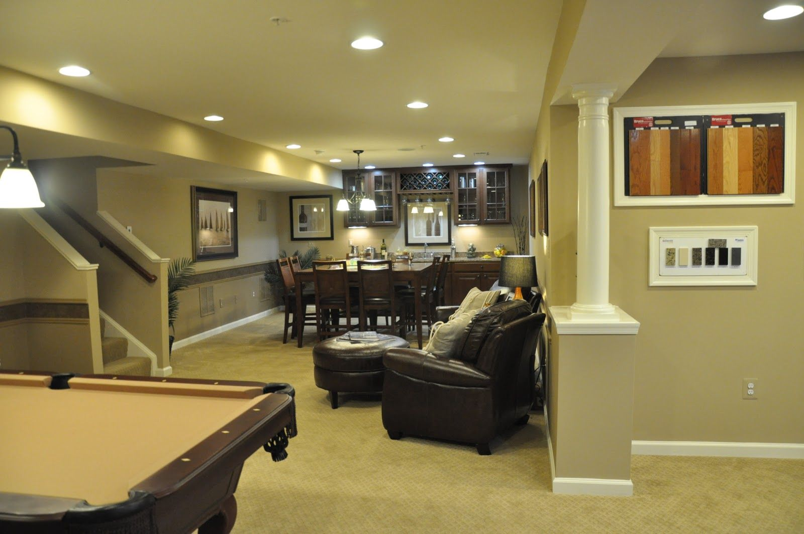 Ryan homes ravenna building a ryan homes ravenna model for Houses with finished basements