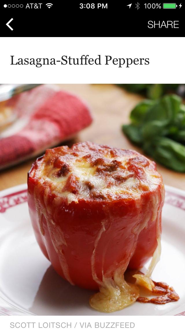 Lasagna stuffed peppers httpsbuzzfeedscottloitsch dinners forumfinder Gallery