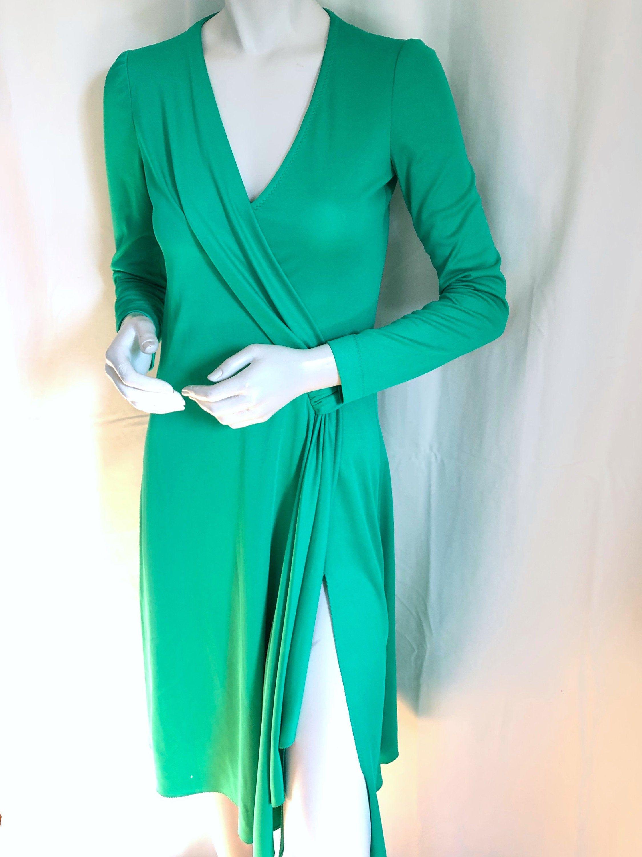 70s Stephen Burrows World Disco Fever Glam Dresses Jersey Wrap Dress Wrap Dress [ 3000 x 2250 Pixel ]