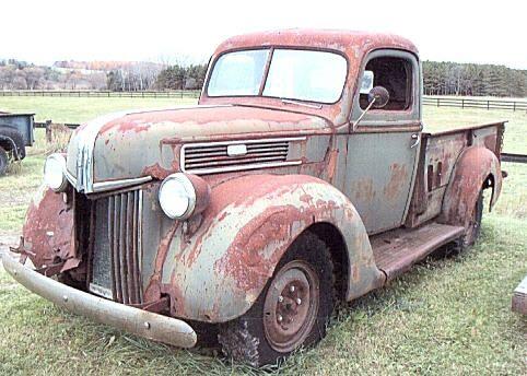 1941fordstepsidepickup Love This Old Truck Vintage Pickup Trucks