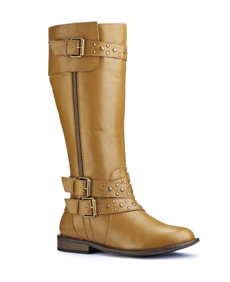 Boots, High leg boots, Wide calf boots
