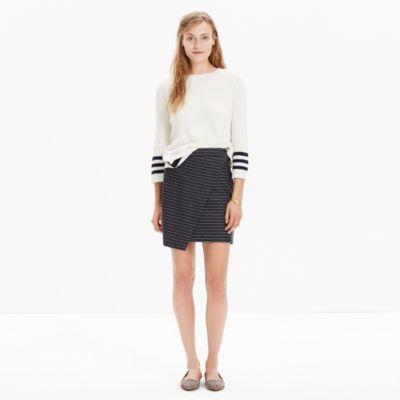 6c5207c44b asymmetrical mini skirt in pinstripe | for my closet | Mini skirts ...