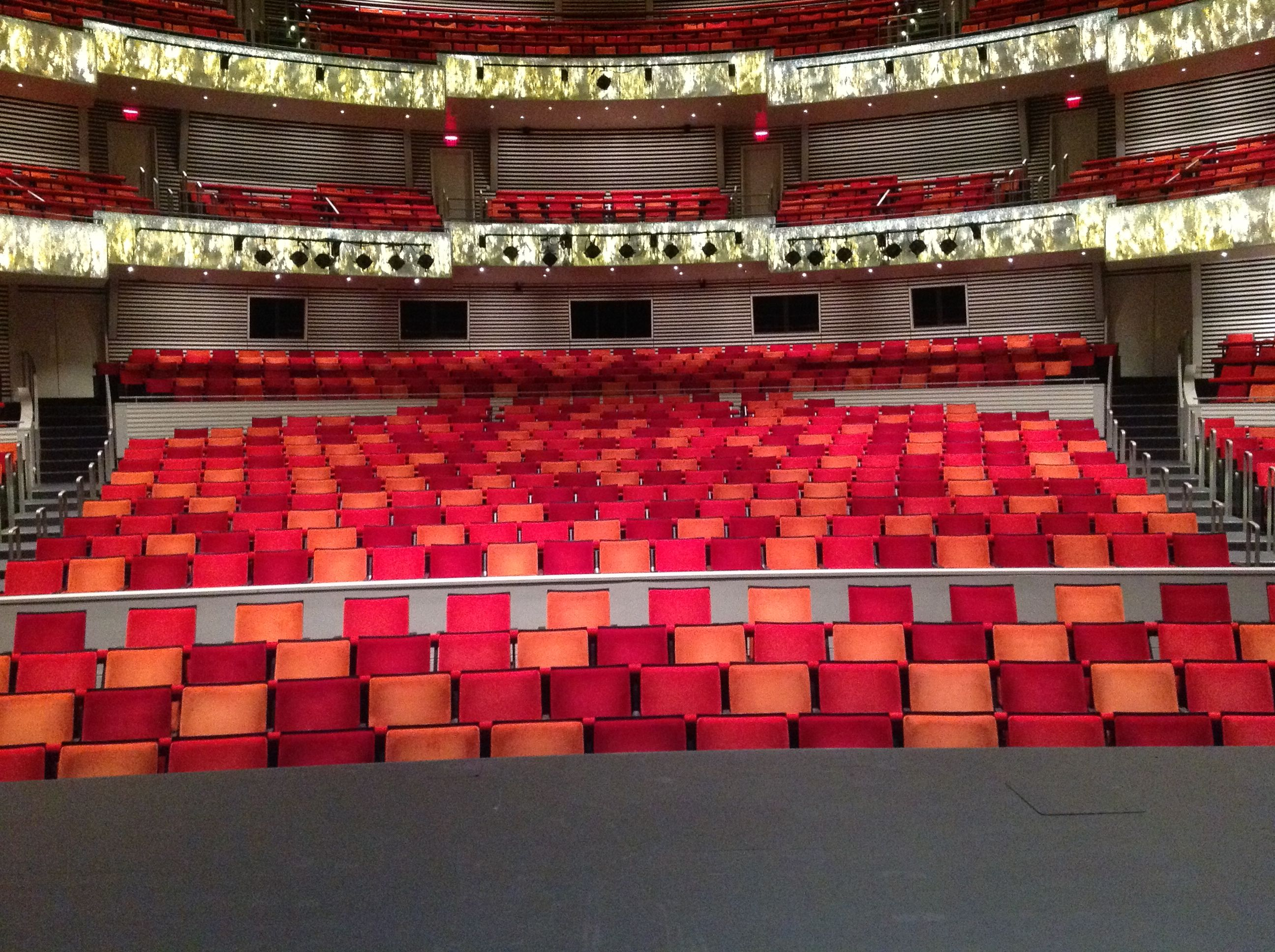 Muriel Kauffman Theatre Seating Theater Seating Event Space Kauffman